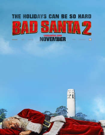 Bad Santa 2 2016 English 700MB CAMRip x264
