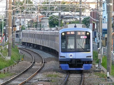 東急東横線 副都心線・東武東上線直通 急行 志木行き4 Y500系