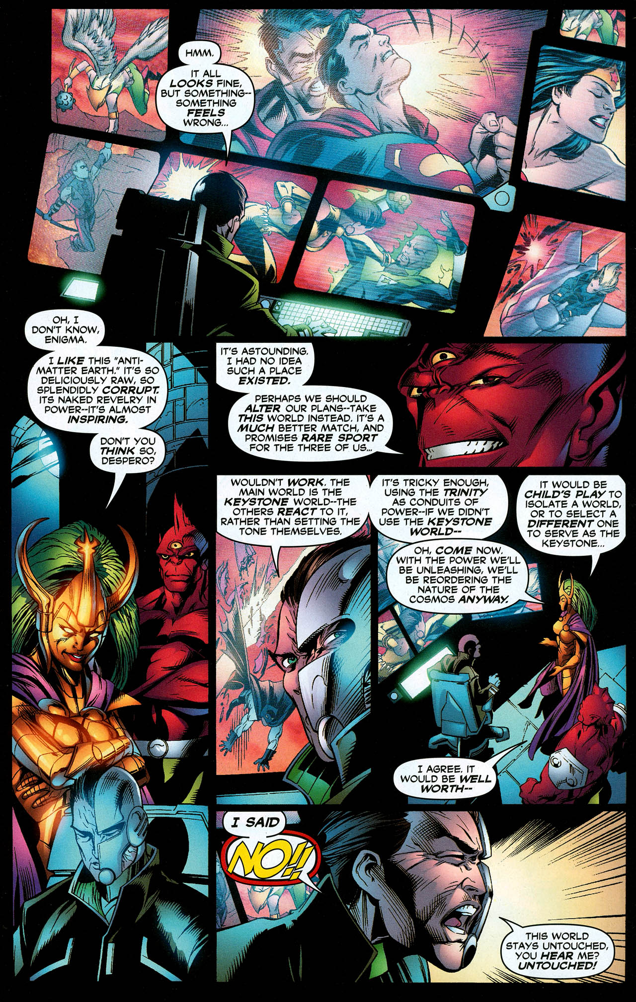 Read online Trinity (2008) comic -  Issue #12 - 12