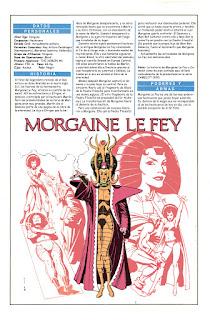 Morgana Le Fey DC Comics