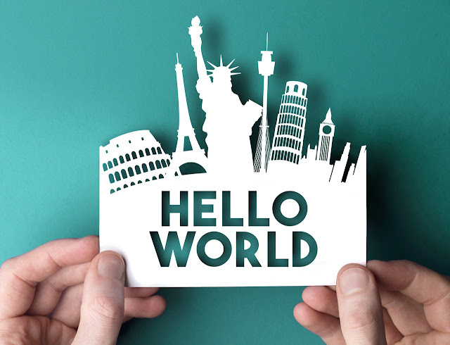 Hello World ! My First Post,Photo by Ink Drop from Pexels