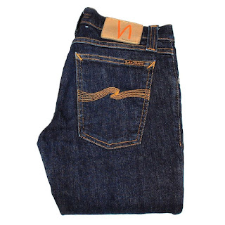 NUDIE JEANS Tight Long John Denim Stretch men Jeans Size 28/34