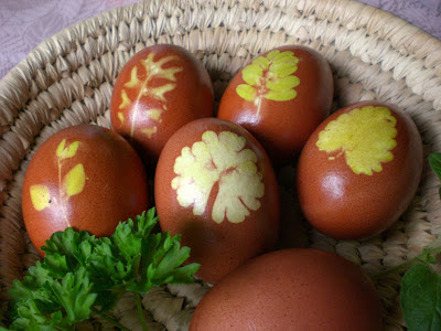 netürlich Ostereier färben