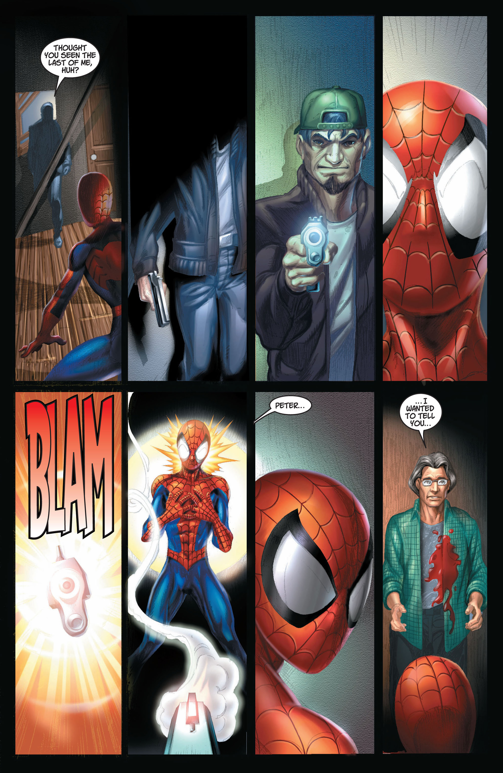 Read online Ultimate Spider-Man (2000) comic -  Issue #8 - 17