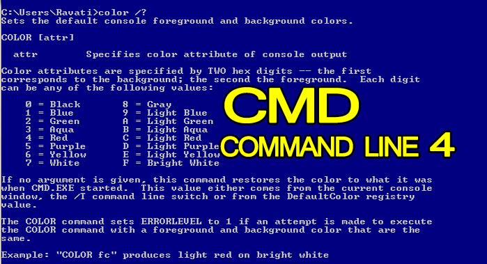 Windows cmd Command Line Tutorial Part 4-- Introduction To CMD Hindi urdu