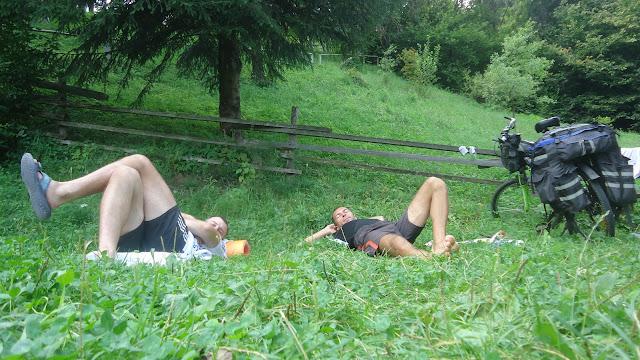 відпочинок велотуриста