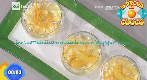 Coppa speziata alla crema d'arancia ricetta Fava da Prova del Cuoco