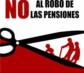 Resultado de imagen de robo pensiones publicas cgt