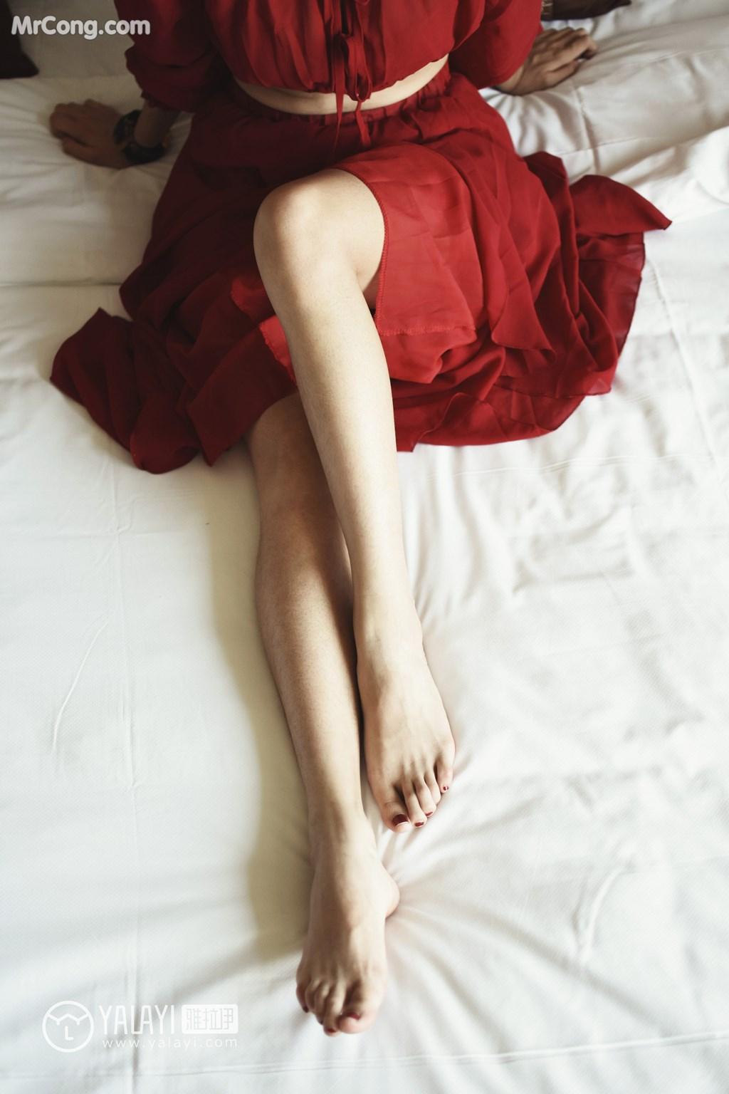 Image YALAYI-No.007-Lin-Xiao-Wei-MrCong.com-007 in post YALAYI No.007: Lin Xiao Wei (林小珂) (47 ảnh)