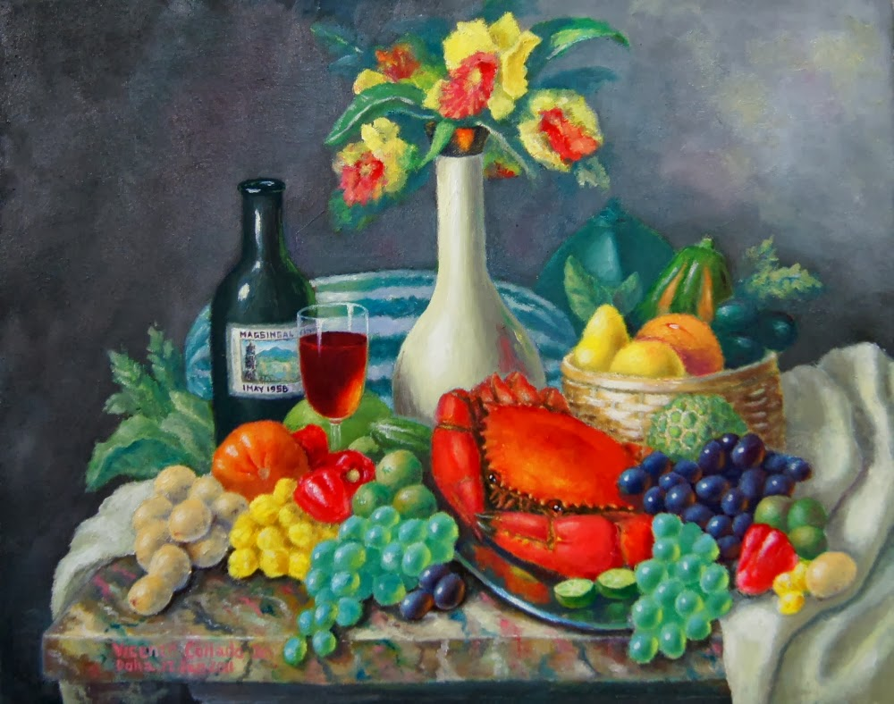 Still Life with a Crab |Crab Still Life