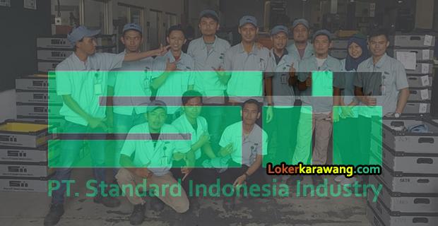 Lowongan Kerja PT. Standard Indonesia Industry EJIP Cikarang