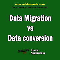 Data Migration vs Data conversion, www.askhareesh.com