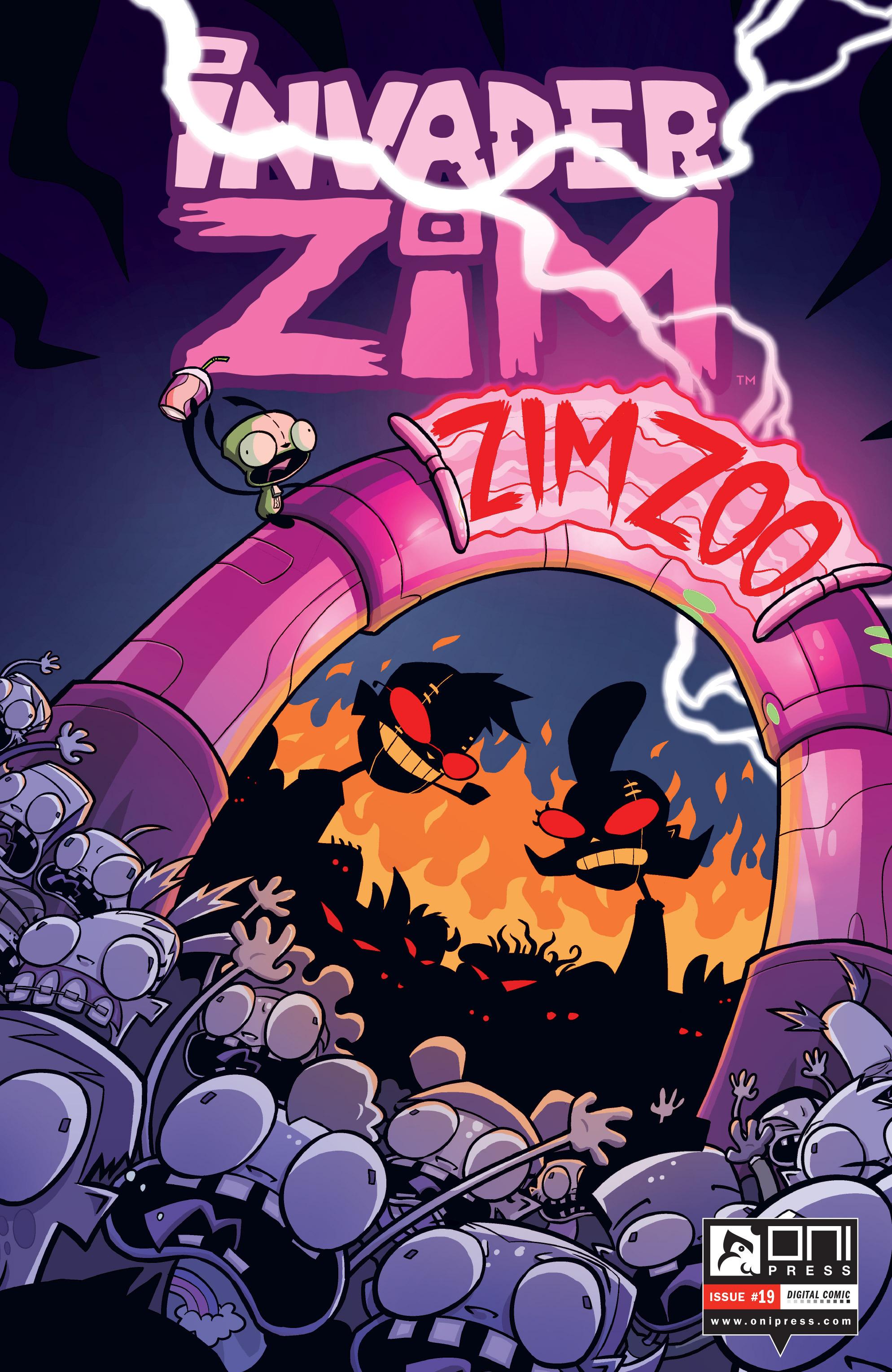 Invader Zim 19 Page 1
