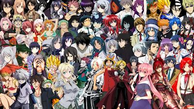 Daftar Anime yang wajib di tonton