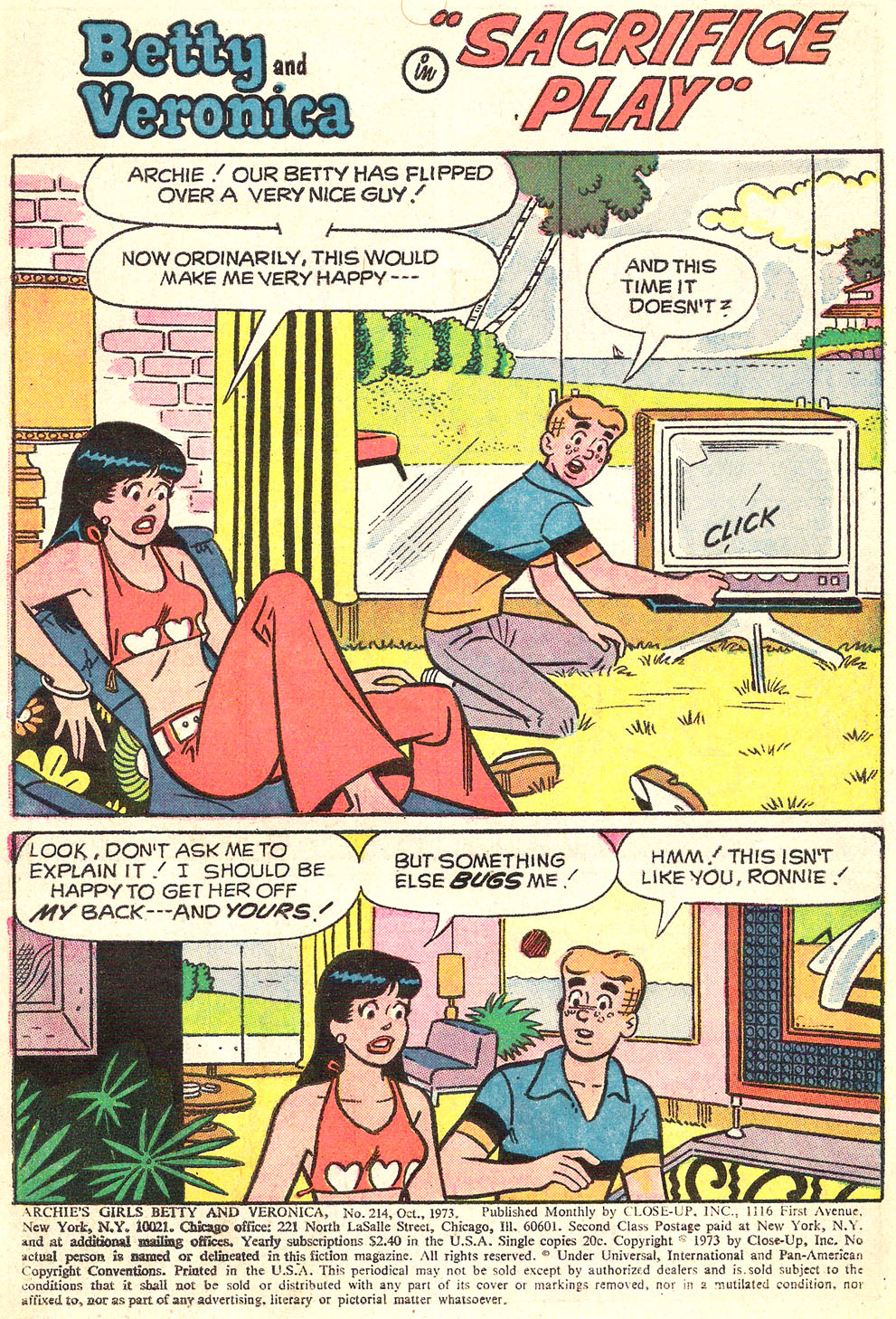 Read online Archie's Girls Betty and Veronica comic -  Issue #214 - 3