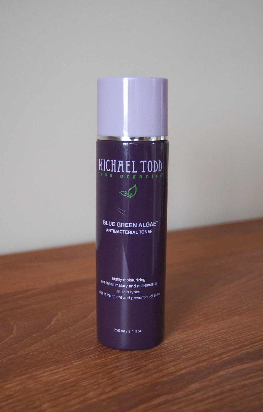 michael todd blue green algae antibacterial toner empty review
