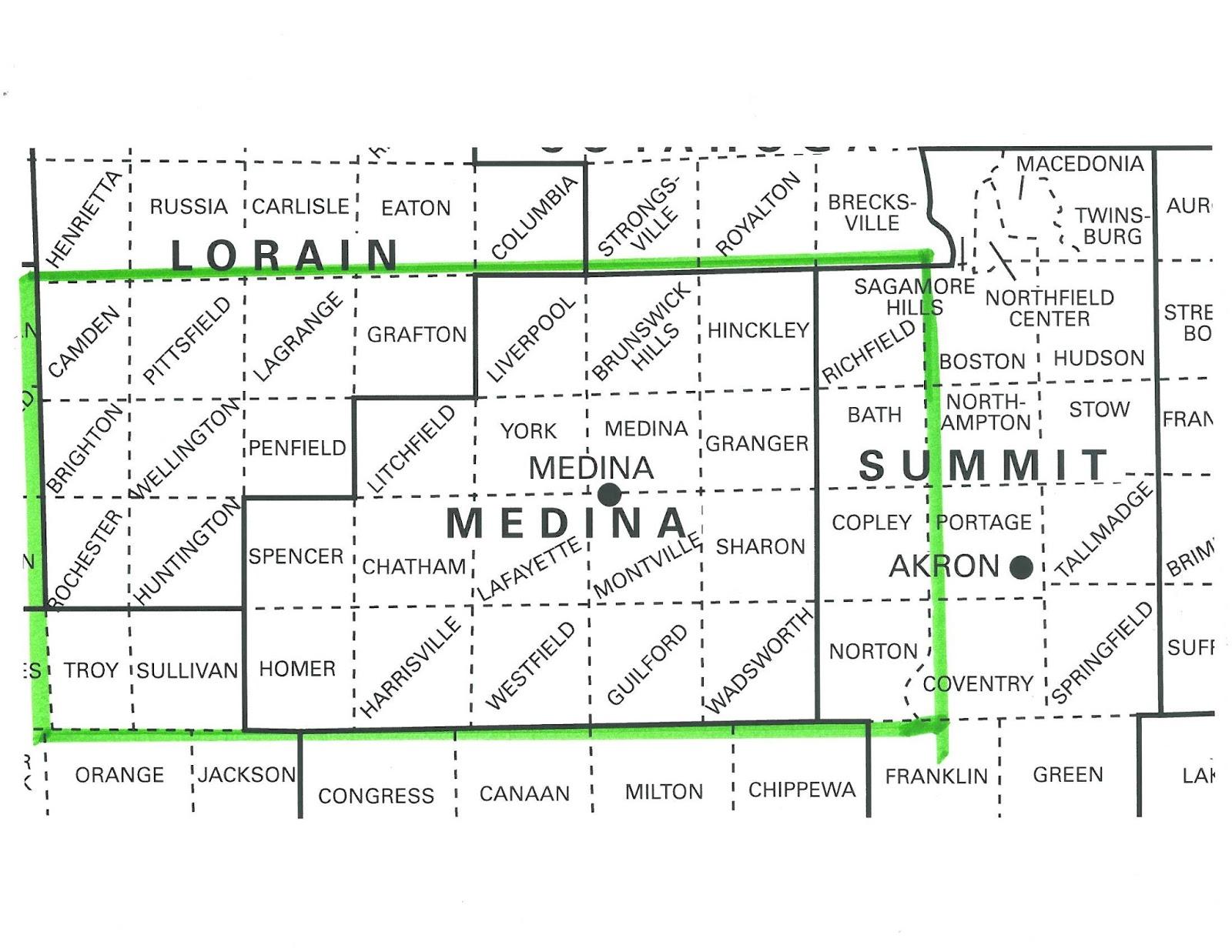 medina county ohio