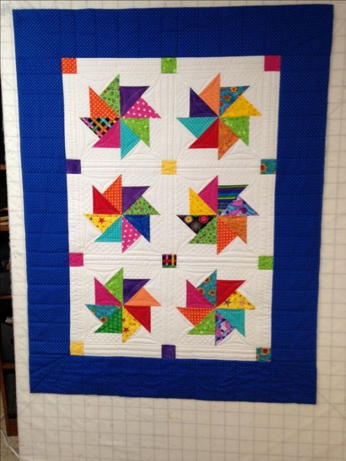 Beautiful Skills - Crochet Knitting Quilting : Pinwheel