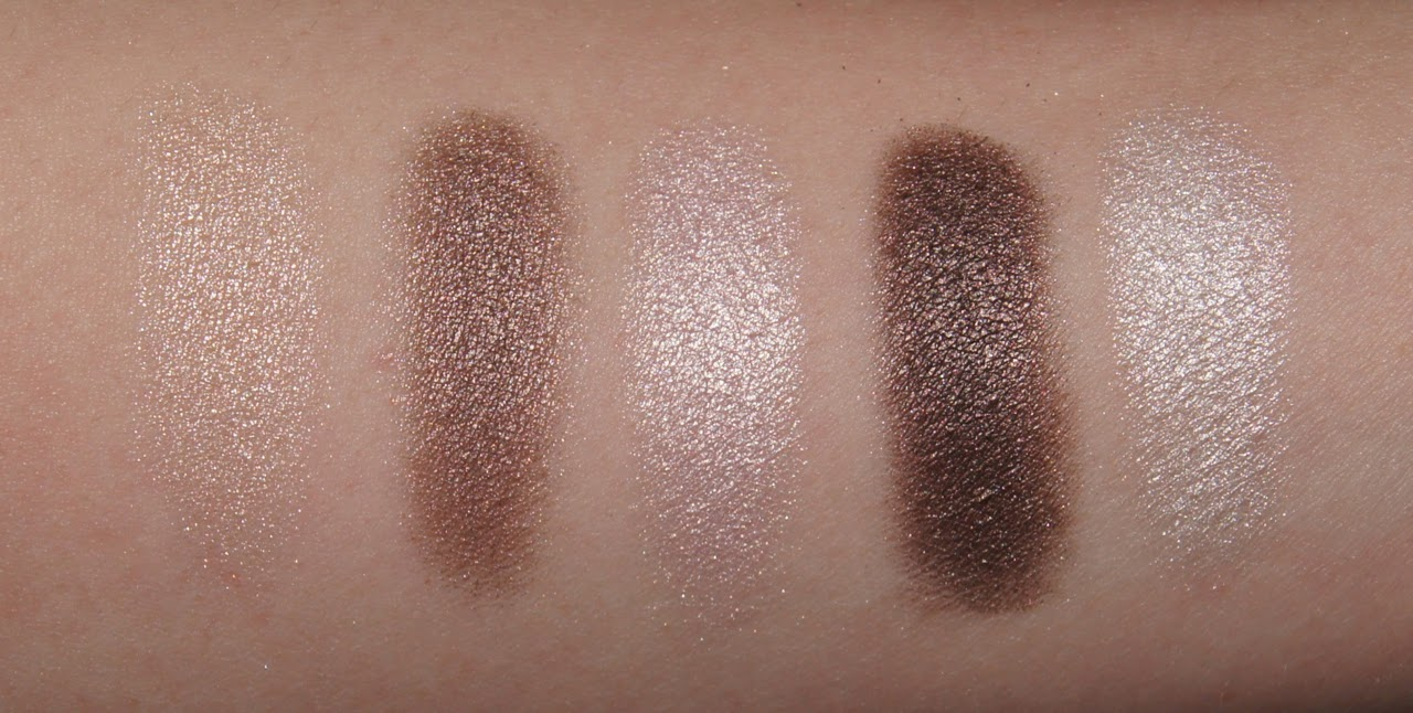 Dior 5 Couleurs Eyeshadow Palette 609 Earth Reflection Swatches