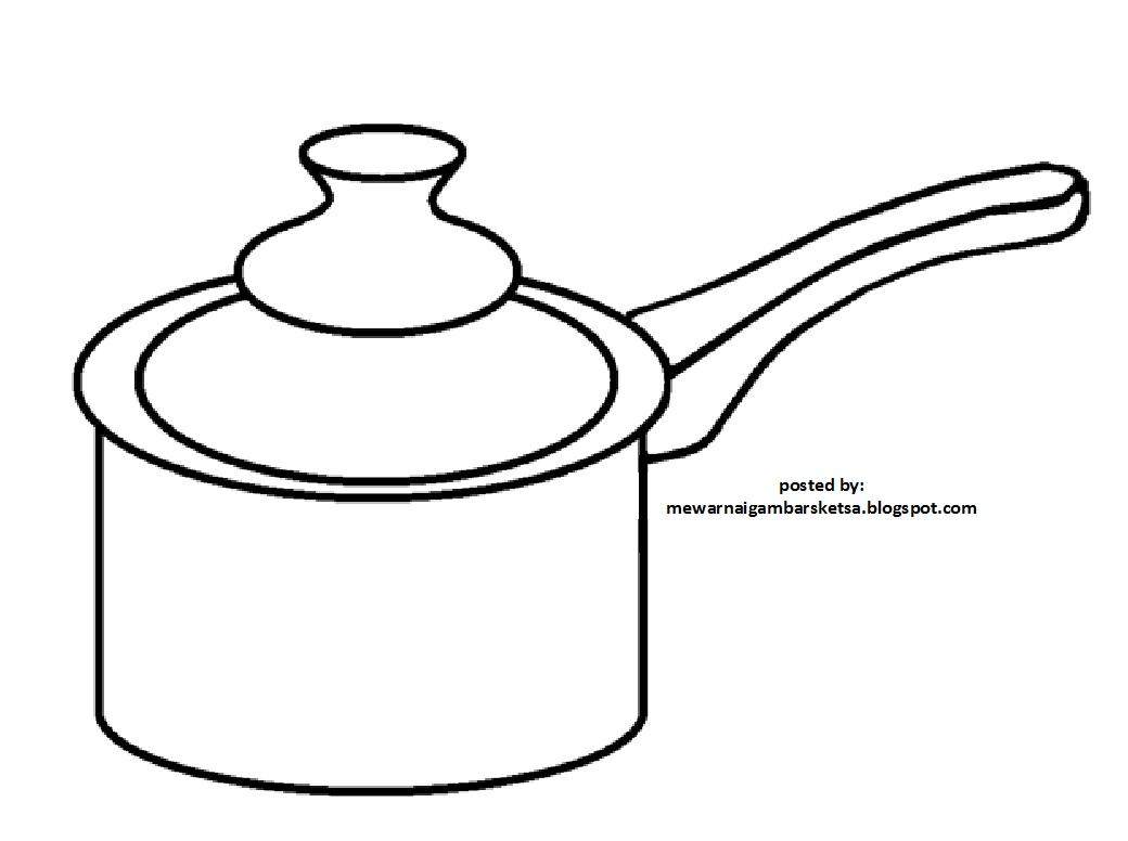 Gambar Mewarnai Di Dapur Related Keywords Suggestions Gambar