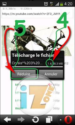 تحديث جديد في أبرا IZone 1.5 كيف تشاهد فيديوهات اليوتيوب