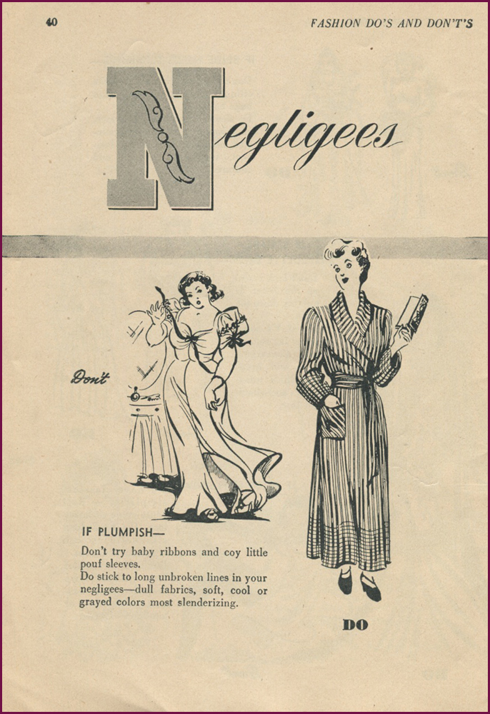 Fashion Do S: NewVintageLady: Fashion Dos And Don'ts For The Plump Girl