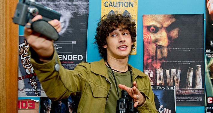 Filipe Bragança, que interpreta Christian Figueiredo adolescente em Eu Fico Loko - O Filme