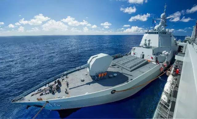 Жизнь на китайском ракетном эсминце