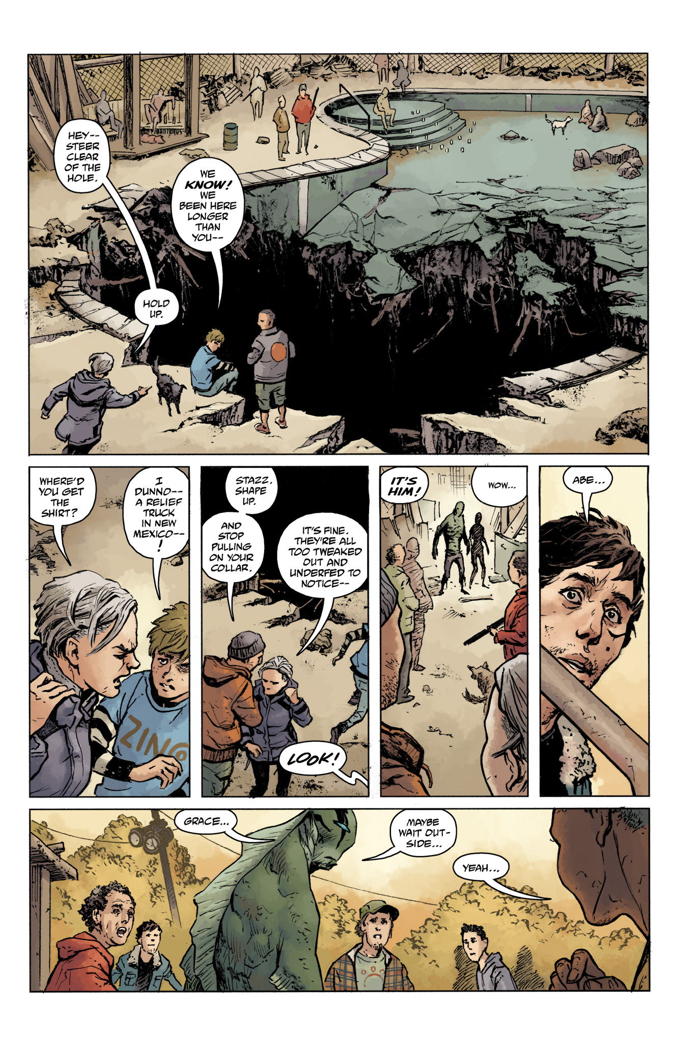 Read online Abe Sapien comic -  Issue #16 - 8