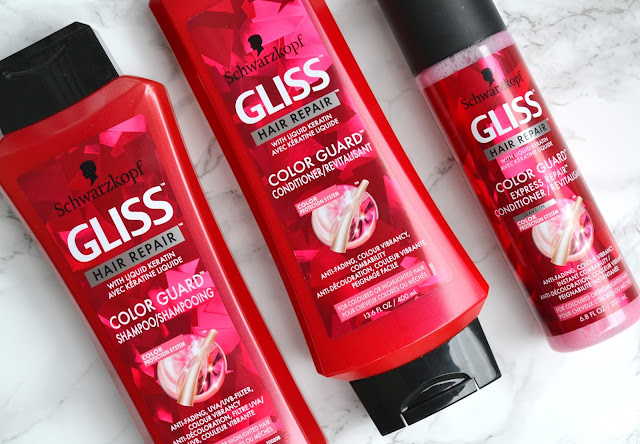 Gliss Color Guard Shampoo and Conditioner Review