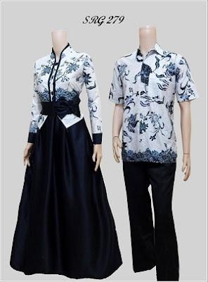 Gambar Model Gamis Batik