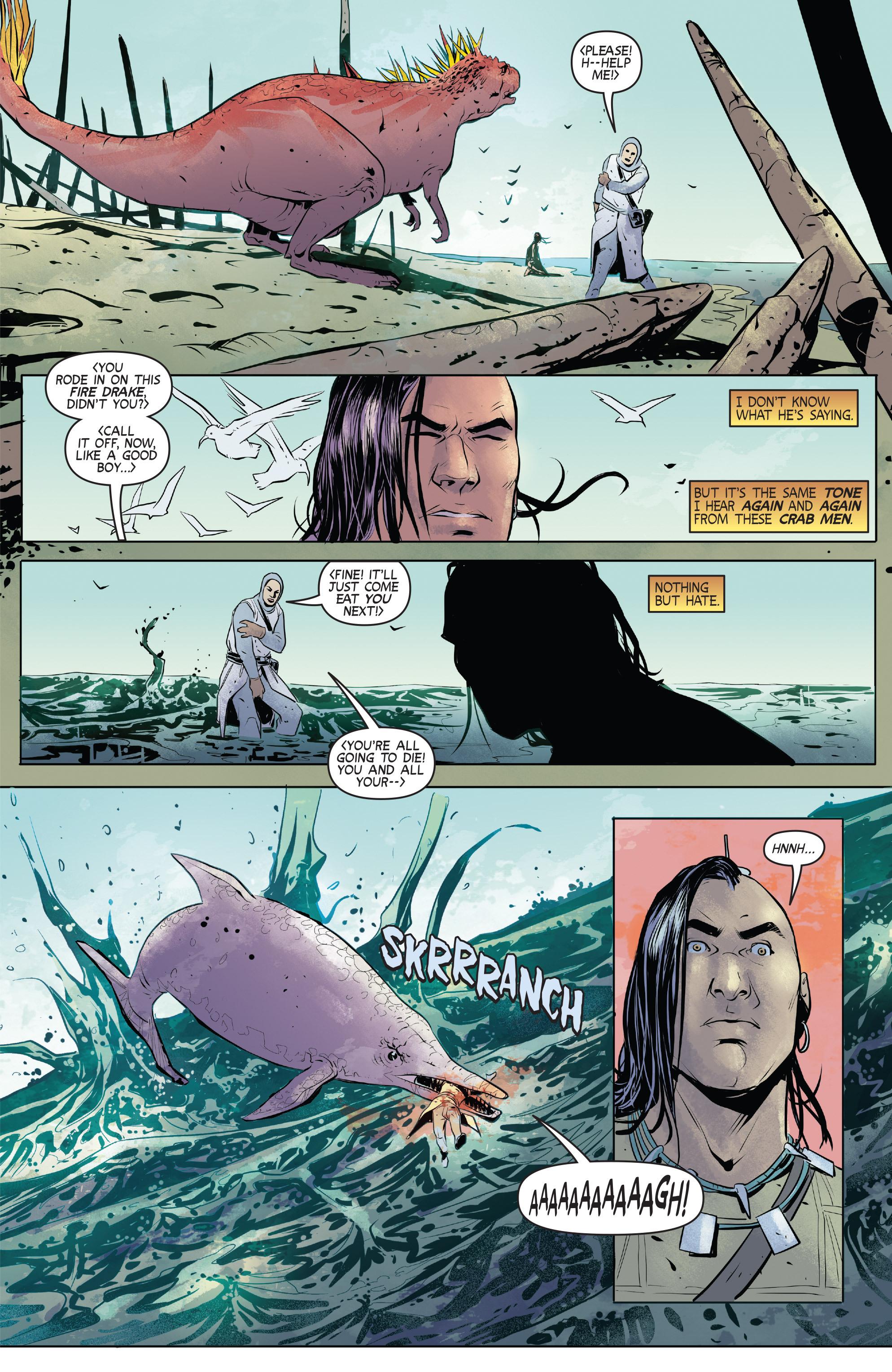 Read online Turok: Dinosaur Hunter (2014) comic -  Issue # _TPB 1 - 78