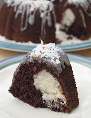Ribboned Fudge Bundt Cake Recipe From Scratch