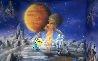 Artystyczne malowanie ścian, obrazy 3D na ściany, artystyczne malowanie ścian, malowanie graffiti 3D,