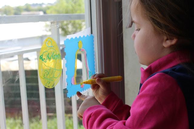 coloriage sur vitres avec des Color'Peps windows maped