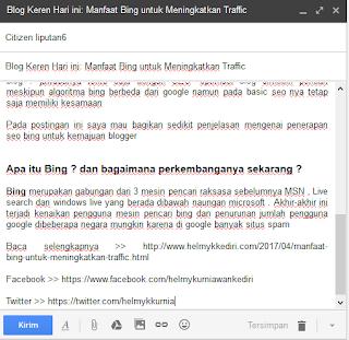 Cara Mengirim Artikel Blog ke Liputan61
