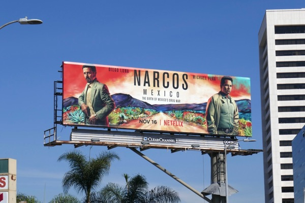 Narcos Mexico Netflix billboard