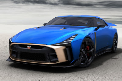 Nissan GT-R50 by Italdesign (2019) Front Side
