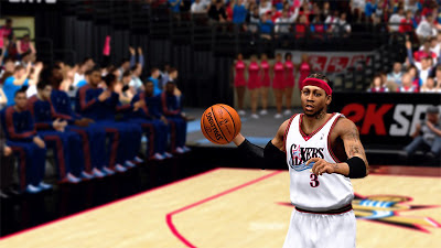 NBA 2K13 Allen Iverson Braids Hairstyle Patch