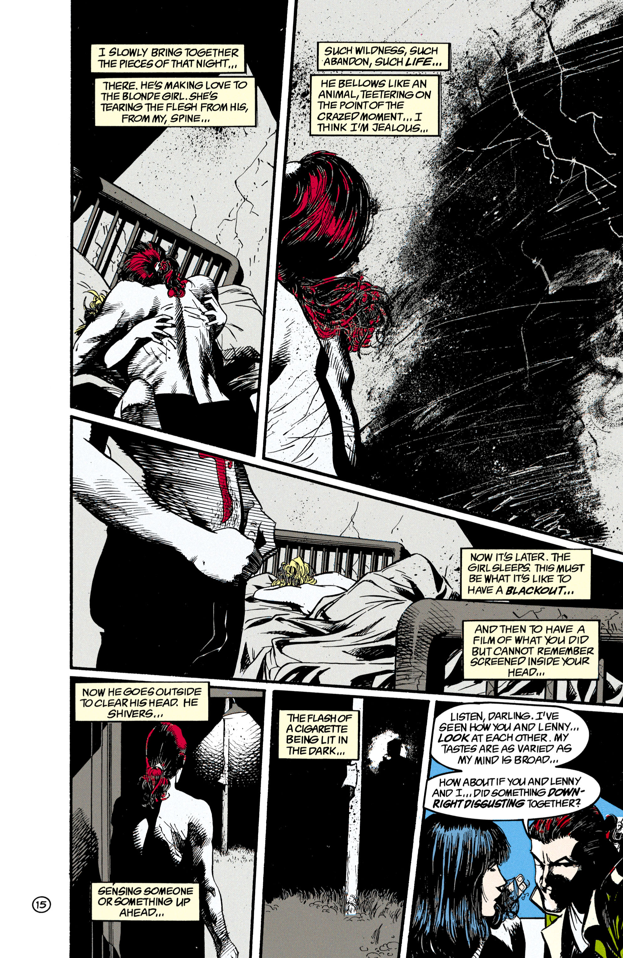 Read online Shade, the Changing Man comic -  Issue #21 - 16
