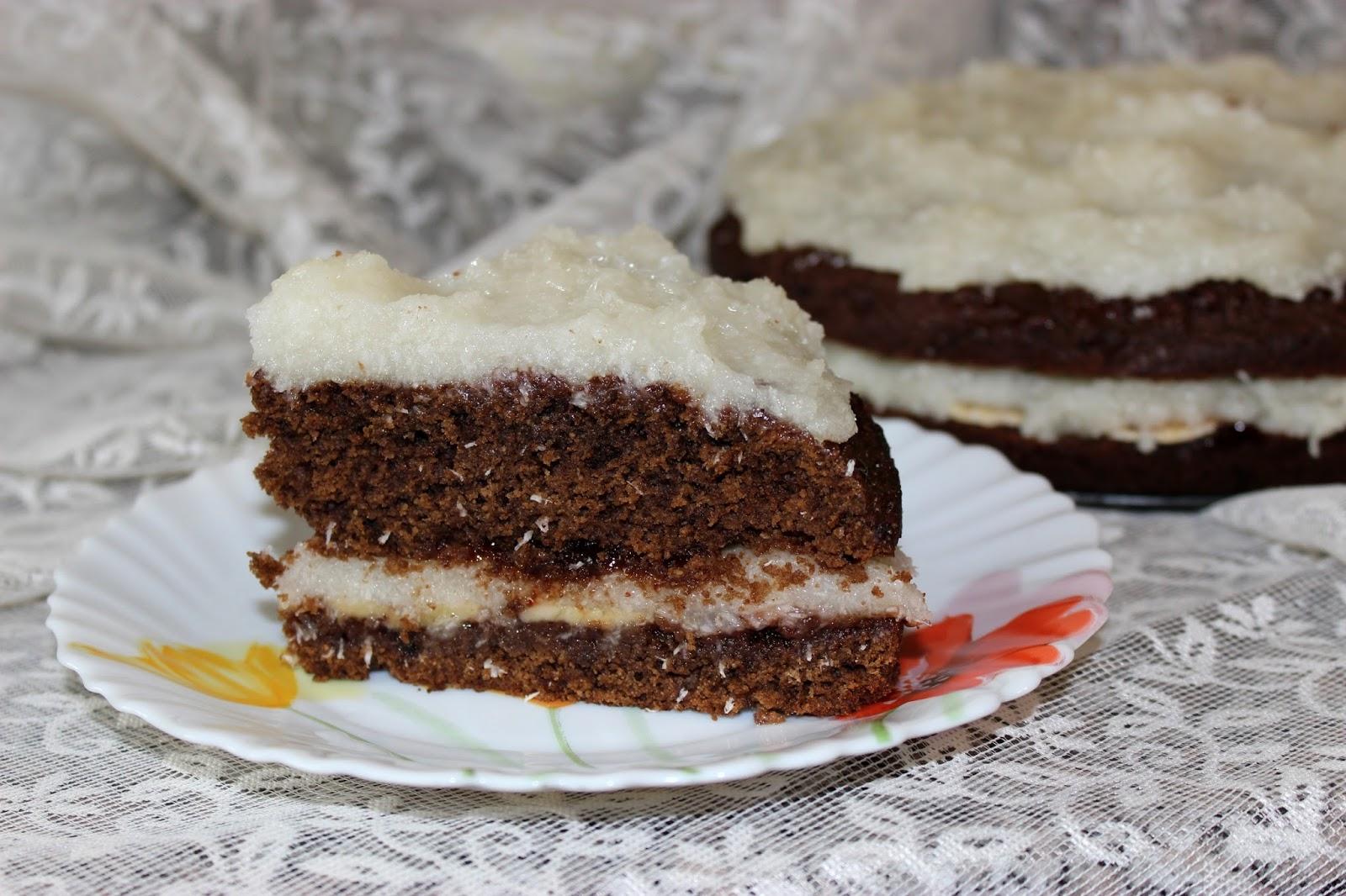 кокосовые торты рецепты с фото зимний период