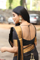 Poorna in Cute Backless Choli Saree Stunning Beauty at Avantika Movie platinum Disc Function ~  Exclusive 053.JPG