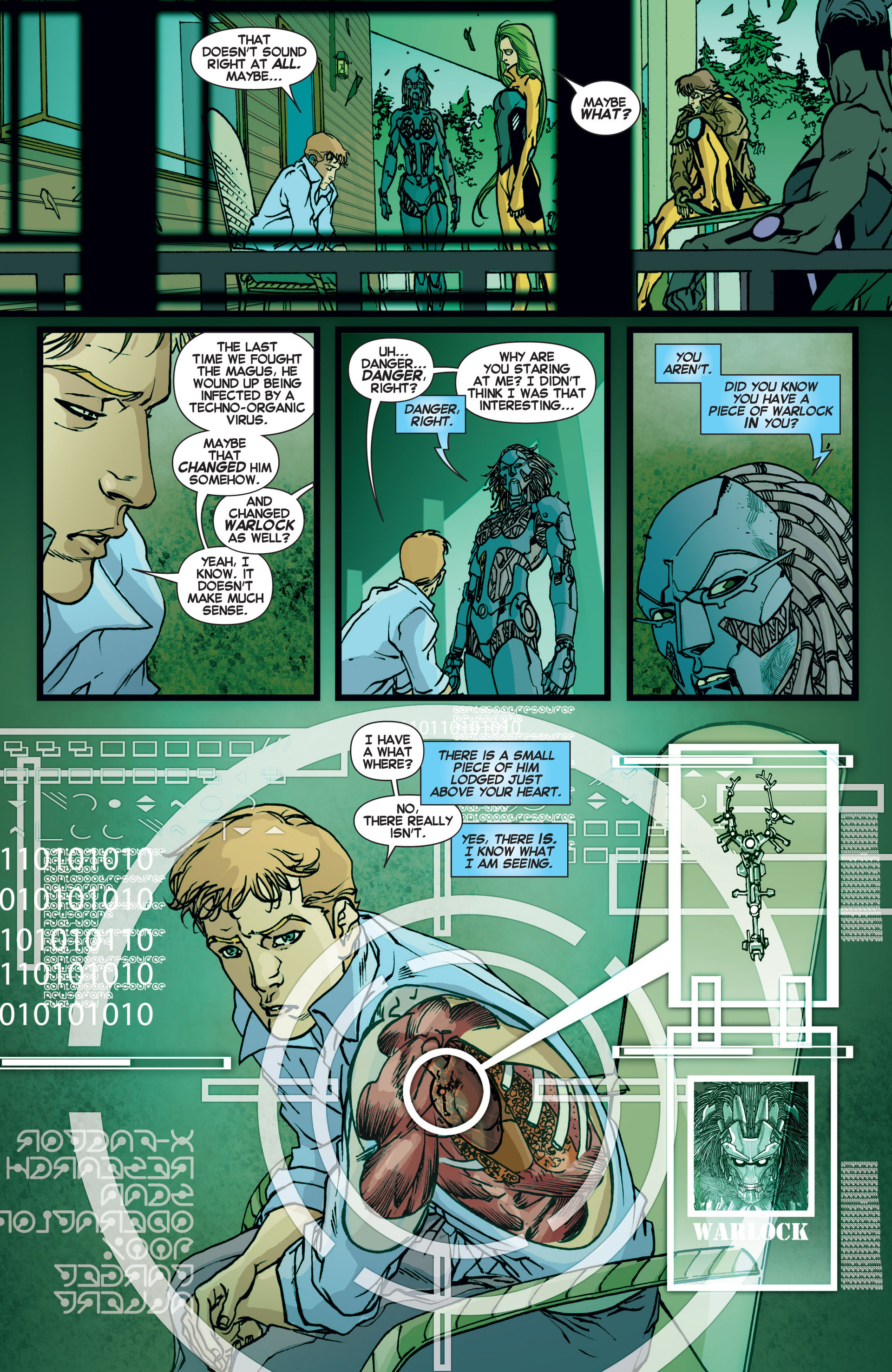 Read online All-New X-Factor comic -  Issue #6 - 7