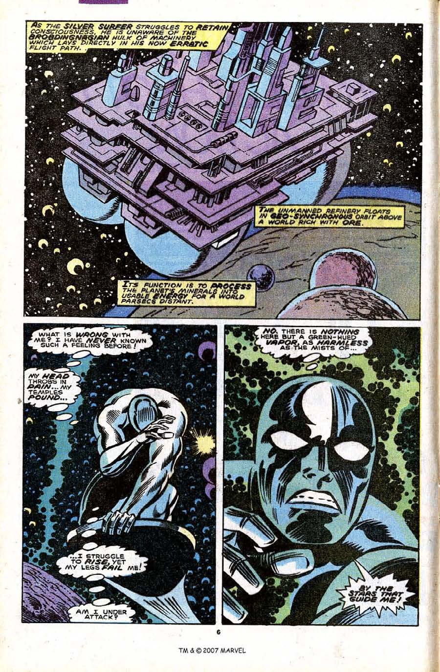 Read online Silver Surfer (1987) comic -  Issue #32 - 8