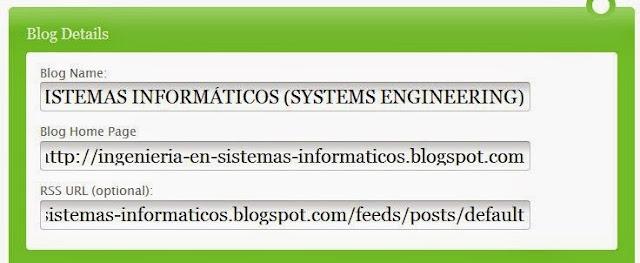 Posicionar Un Blog en Google con pingomatic.com