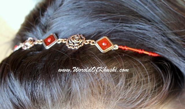 Khushi's World Necklace cum Headband