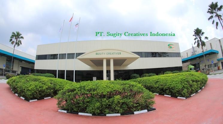 Lowongan Operator Produksi PT Sugity Creatives Manufacturing indonesia Tahun 2018