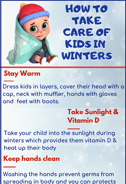HOW TO TAKE CARE OF KIDS IN WINTERS- JUGNU KIDS