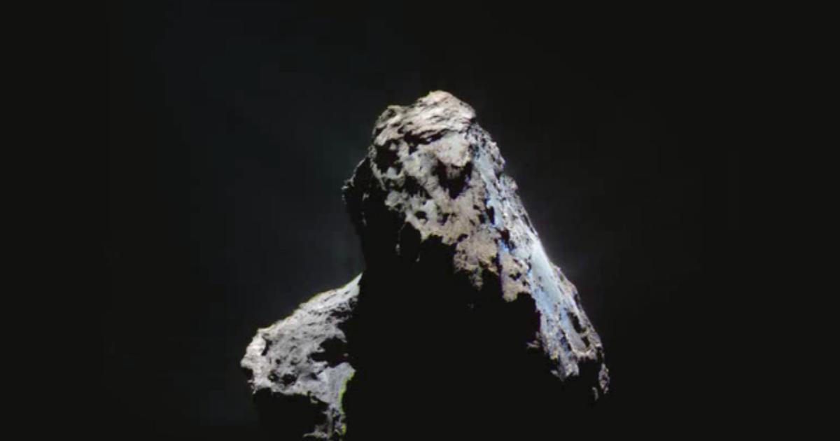 Rosetta svela i segreti ghiacciati della sua cometa