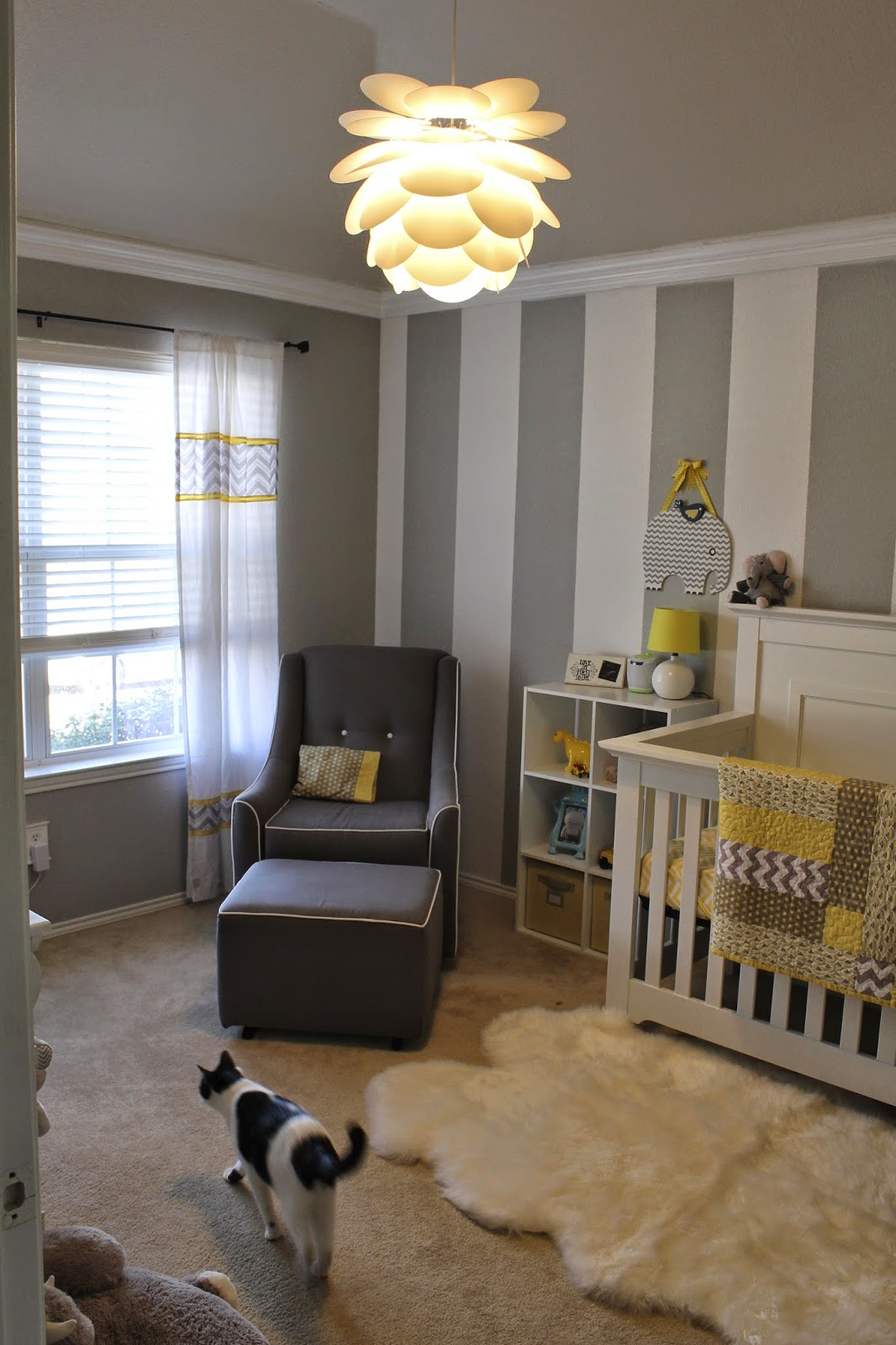 All Things Alisa Gray White Amp Yellow Nursery